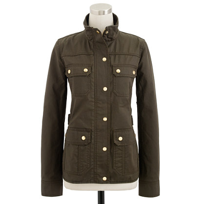 J. Crew Downtown Field Jacket