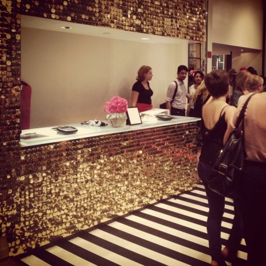 Glitter Wall, Kate Spade New York Store
