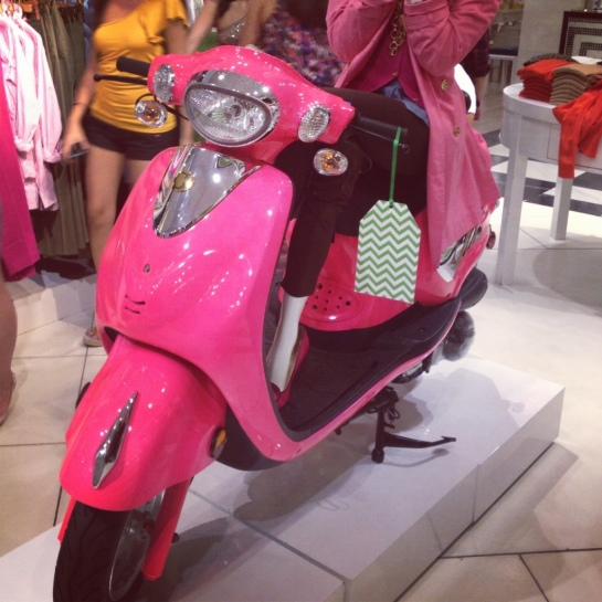 C. Wonder Store New York, Pink Scooter Moped
